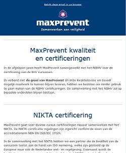 nieuwsbrief 6 maxprevent
